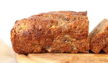 100% Whole Grain Banana Bread | texanerin.com