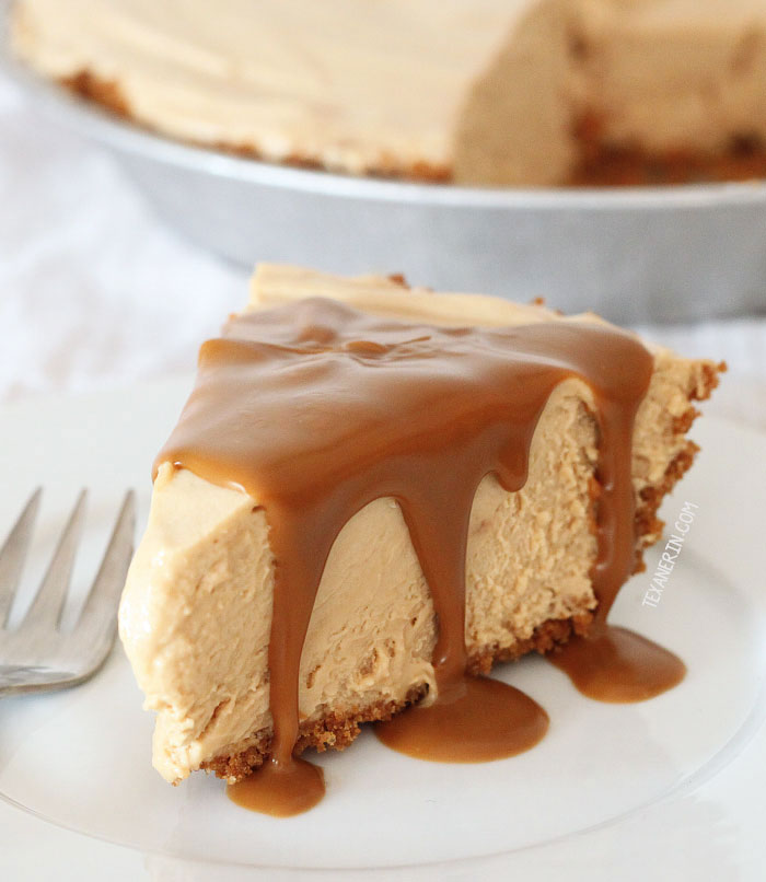 Biscoff Pie (a.k.a. Speculoos Pie) – just like peanut butter pie but with cookie butter instead of peanut butter!