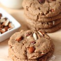 Maple Almond Butter Cookies (vegan, 100% whole grain, dairy-free)