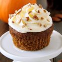 Pumpkin Cupcakes (gluten-free option)