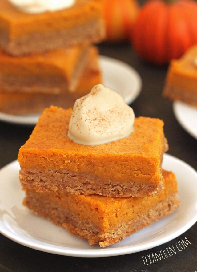 100% Whole Grain Gooey Pumpkin Butter Cake | texanerin.com