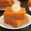 100% Whole Grain Gooey Pumpkin Butter Cake