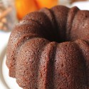 Orange Pumpkin Gingerbread Bundt Cake (whole grain, dairy-free)