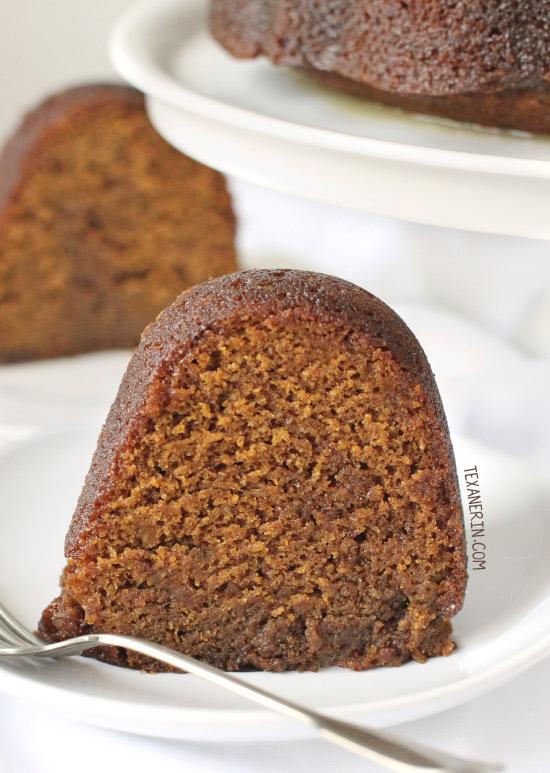 Orange Pumpkin Gingerbread Bundt Cake Whole Grain Dairy