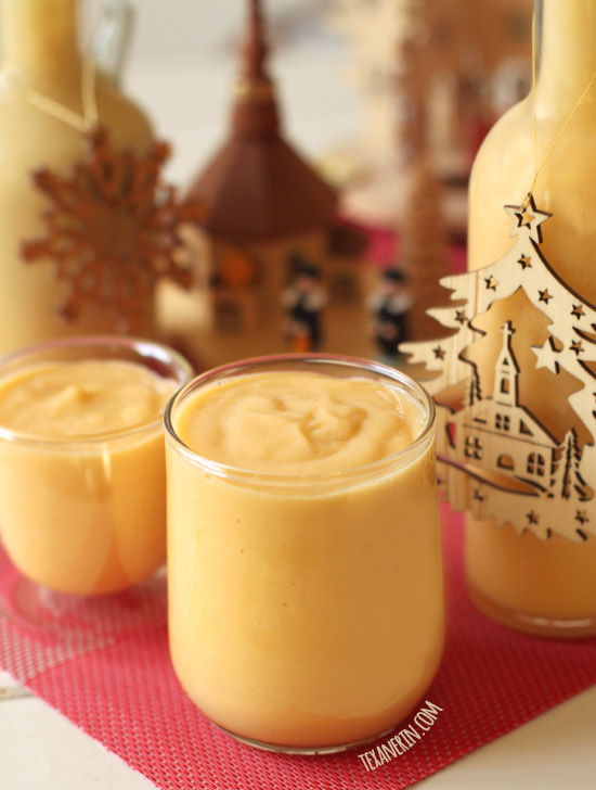 Eierlikör – This German Egg Liqueur, also know as Advocaat, is similar to eggnog but so much better!