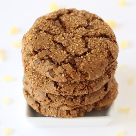 100% Whole Grain Soft and Chewy Ginger Cookies