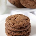 Molasses Cookies (gluten-free, dairy-free, whole grain)