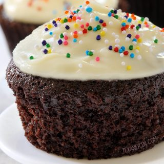 The Best Chocolate Cupcakes Ever! With gluten-free, whole wheat and all-purpose flour options.
