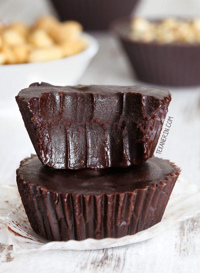 Chocolate Peanut Butter Fudge Vegan Paleo Options