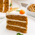 Healthy Carrot Cake (gluten-free option)