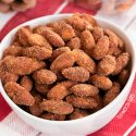Paleo Vegan Candied Almonds