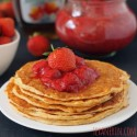 Protein Pancakes for Two (100% Whole Grain, Gluten-Free)