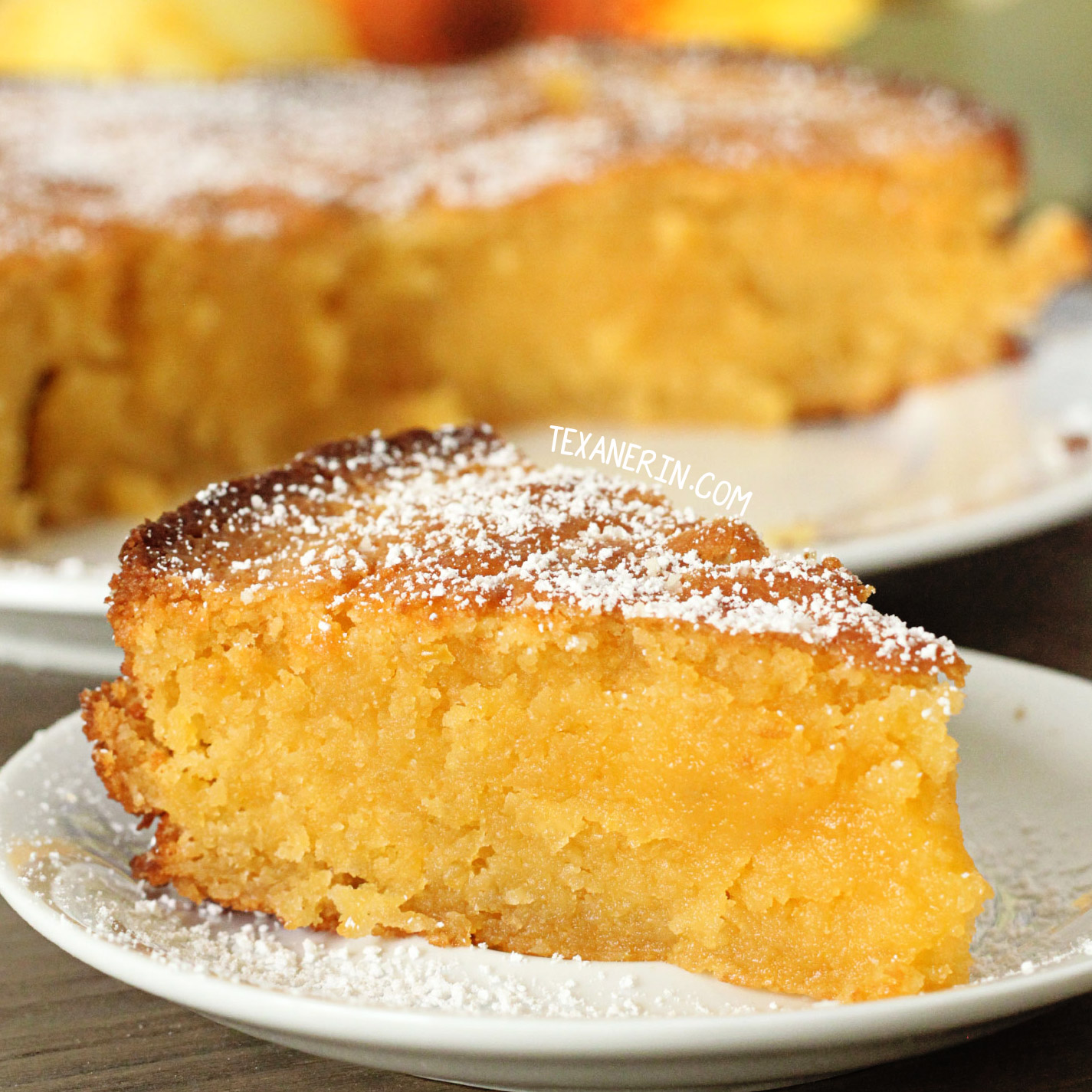 Italian Rice Cake With Orange