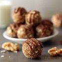 Raw Cinnamon Raisin Cookie Dough Balls (gluten-free, vegan, dairy-free, 100% whole grain)