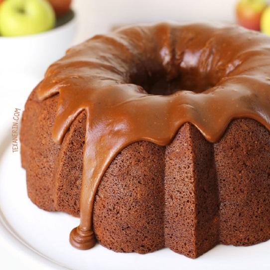 Healthier Apple Cream Cheese Bundt Cake