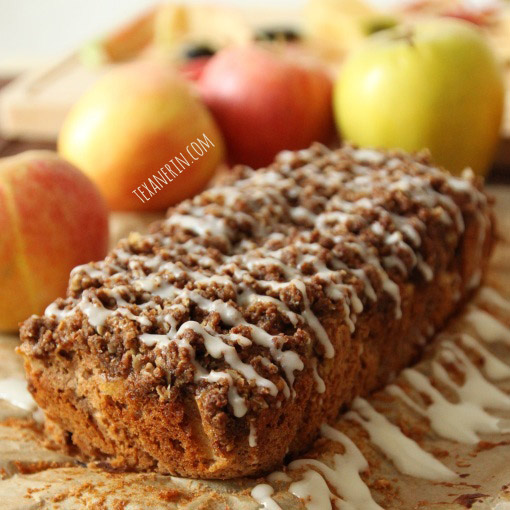 100% Whole Grain Apple Fritters Apple Cake Bars (100% whole grain) 100 ...