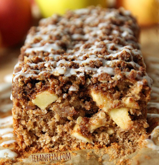 Cinnamon Apple Oatmeal Bread – you won't believe how delicious this 100% whole grain loaf is! | texanerin.com