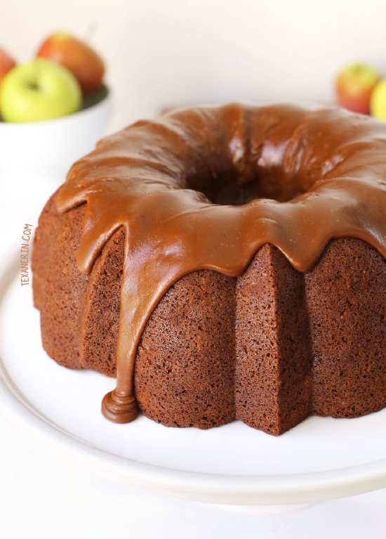 healthier apple cream cheese bundt cake texanerin baking