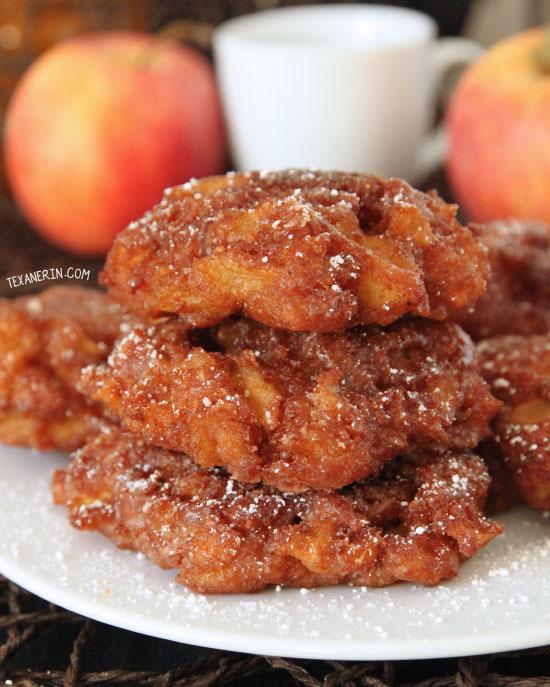 100 Whole Grain Apple Fritters Texanerin Baking