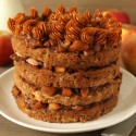 Apple Blondie Cake (100% whole grain)