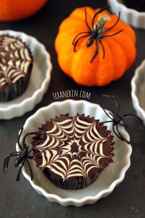 Spiderweb Cupcakes (GF, DF)