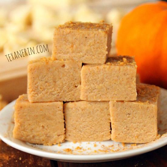 No-Bake White Chocolate Pumpkin Fudge – Texanerin Baking