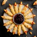Witch Finger Cookies (without food coloring!)