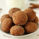 Chewy Paleo Ginger Cookies (grain-free, gluten-free, dairy-free)