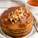 Easy Pumpkin Pancakes (gluten-free option)