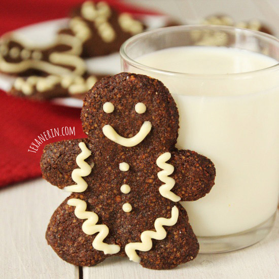 Soft and Chewy Grain-free Gingerbread Men from texanerin.com