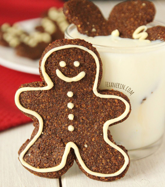 Grain-free Gingerbread Men – nice and chewy! From texanerin.com