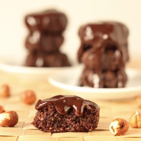 Grain-free Chocolate Hazelnut Cookies | texanerin.com