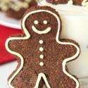 Paleo Gingerbread Men Cookies (grain-free, gluten-free, dairy-free)