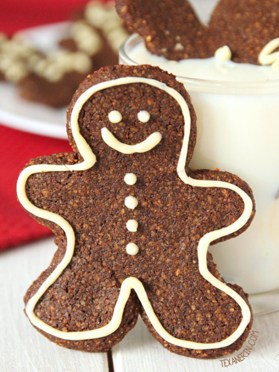 Paleo Gingerbread Men Cookies – soft and chewy! {grain-free, gluten-free, and dairy-free}