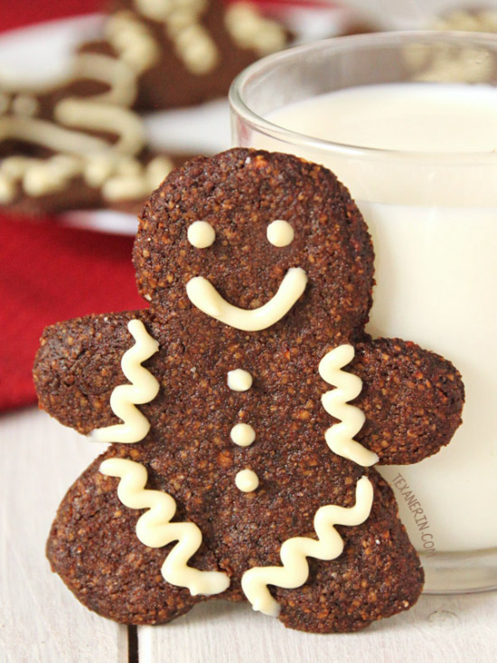 Paleo Gingerbread Men Cookies – soft and chewy! {gluten-free, grain-free, and dairy-free}