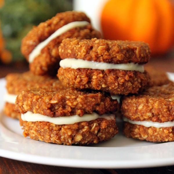 Gluten-free Chewy Pumpkin Cookies | texanerin.com