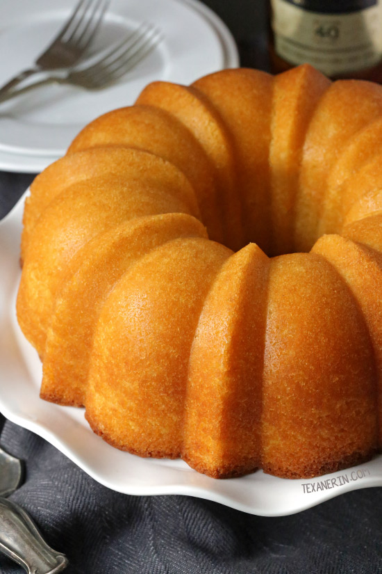 Totally from Scratch Rum Cake – there's no pudding or cake mix involved and it's even more delicious than the cake mix version! Can be made with all-purpose flour or with whole wheat pastry flour for a 100% whole grain version.