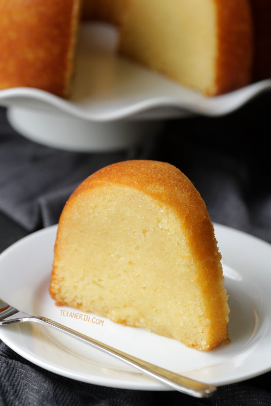 Totally from Scratch Rum Cake – there's no pudding or cake mix and it's even more delicious than the cake mix version! Can be made with all-purpose flour or with whole wheat pastry flour for a 100% whole grain version.