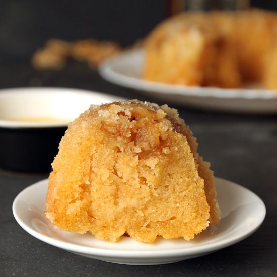 Totally From Scratch Rum Cake | texanerin.com