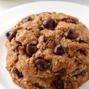 Whole Grain Chewy Oatmeal Raisin Cookies