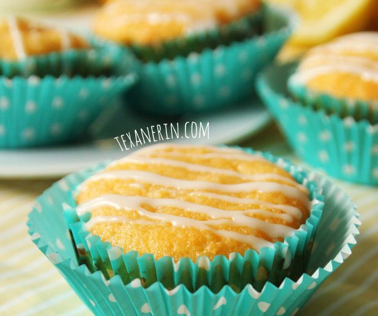 Lemon Muffins (Grain-free, gluten-free)