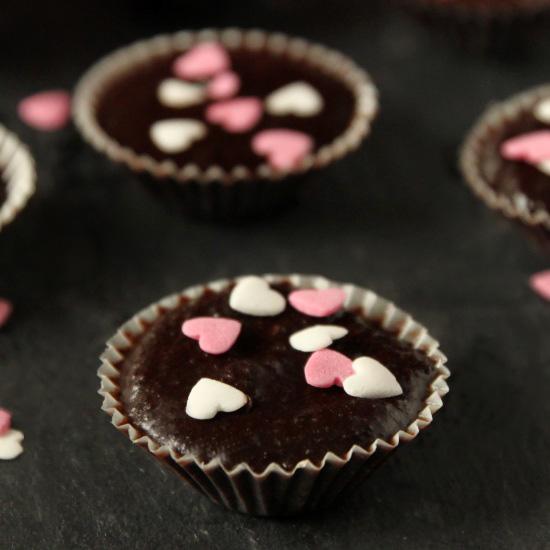 Healthier Nutella Fudge | texanerin.com