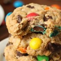Healthier M&M Cookies
