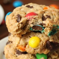 whole-wheat-m&m-oatmeal-cookies FI