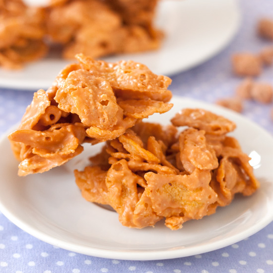 Peanut Butter Butterscotch Drops | texanerin.com