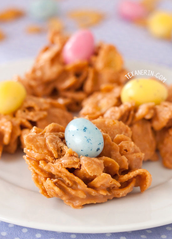 3-ingredient Peanut Butter Butterscotch Drops – quick and easy to throw together!