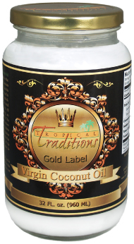Gold Label Virgin Coconut Oil - 32 oz.