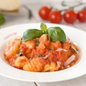 Gnocchi with Lighter Tomato Cream Sauce (gluten-free option)