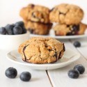 100% Whole Grain Orange Blueberry Scones (vegan)