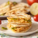 Creamy Cheesy Chicken Quesadillas